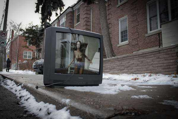 Resuscitated Discarded TVs