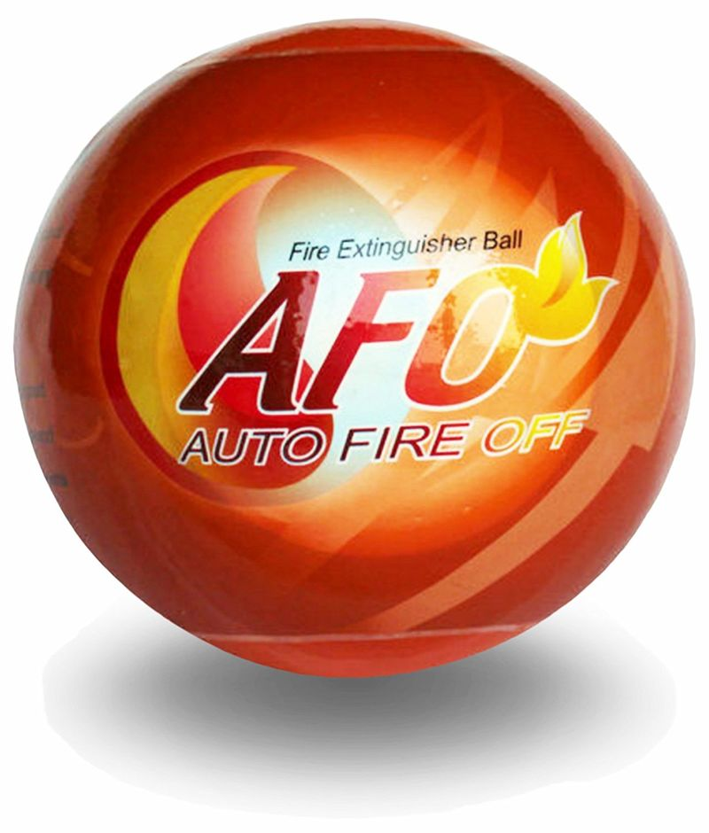 Fire Suppressant Spheres