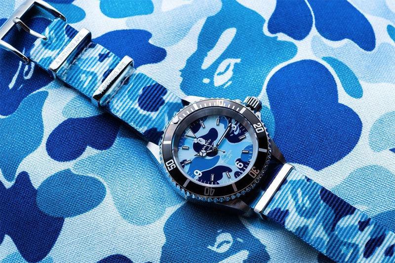 Colorful Camo Nylon Watches