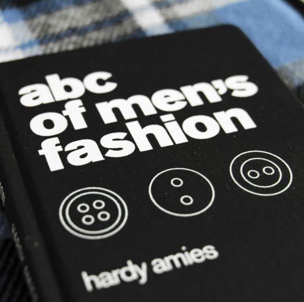 Masculine Fashion Alphabet Guides