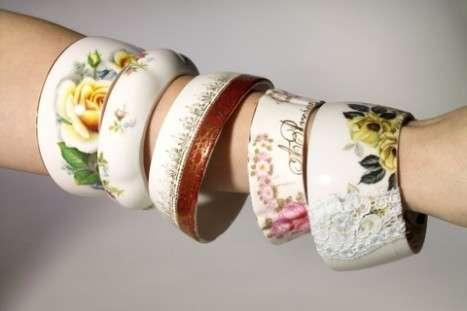Upcycled Teatime Bangles
