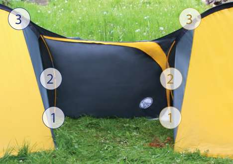 Tubular Tent Attachments
