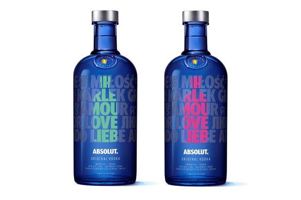 Inclusive Love Vodka Packaging