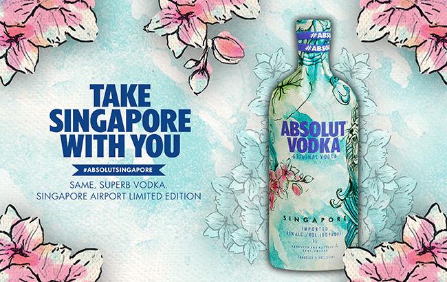 Singapore-Inspired Vodkas