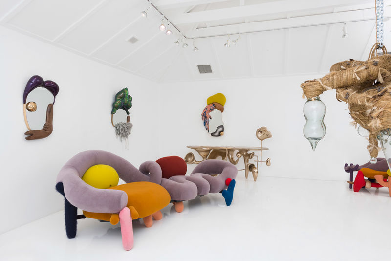 Lush Ludicrous Furniture Exhibits