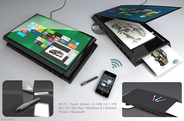 Do-All Touchscreen Tech Concepts