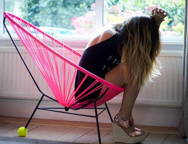 Woven Hammock-Like Seating