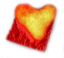Accidental Nano Hearts