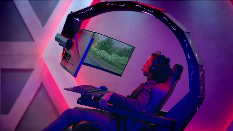 Reclining Gamer Immersion Chairs