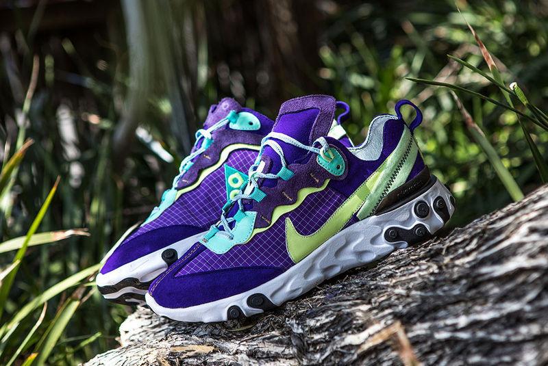 Reworked Hybrid Neon Sneakers