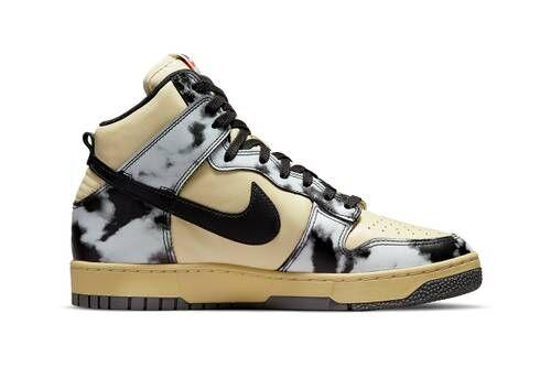 Monochromatic Acid Wash Sneakers