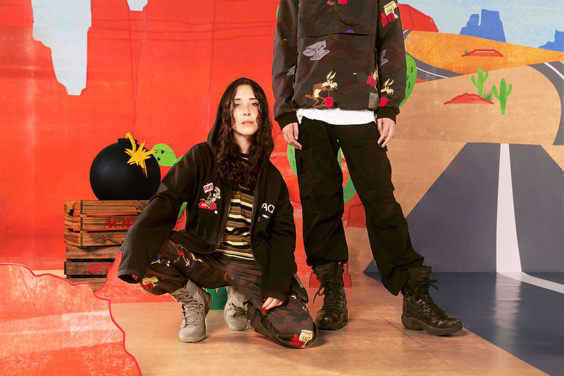 Rugged Cartoon-Inspired Fashion Lines