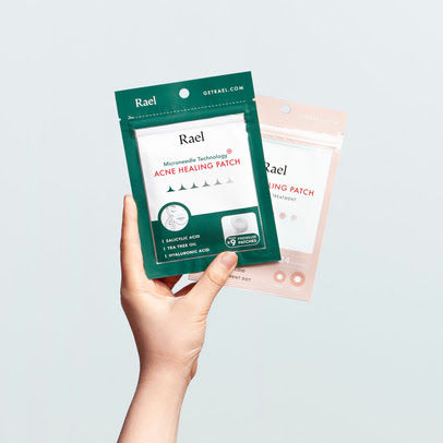Microneedle-Infused Acne Healing Patches