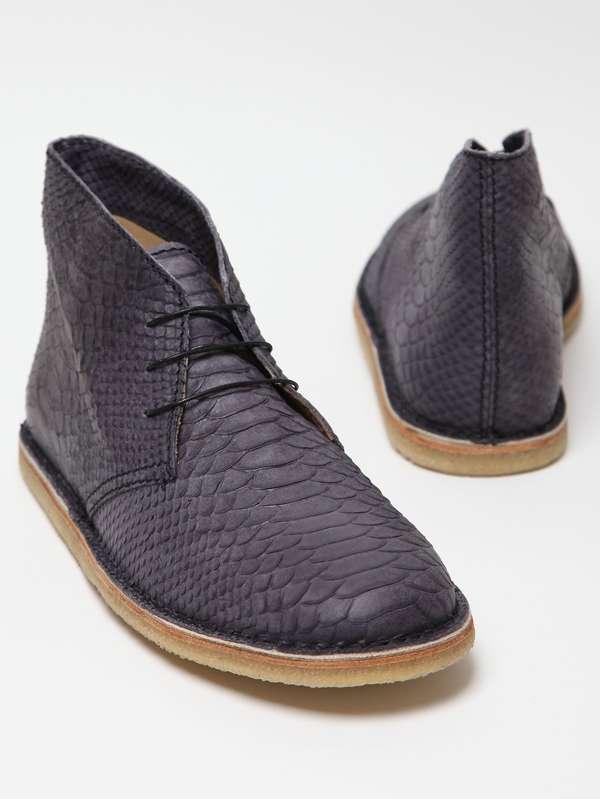 Sleek Moulted Sneakers