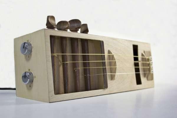 Guitar-Inspired Alarm Clocks