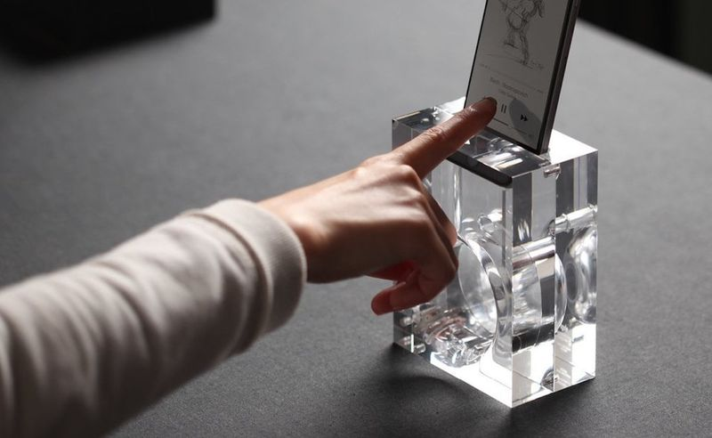 See-Through Smartphone Amplifiers