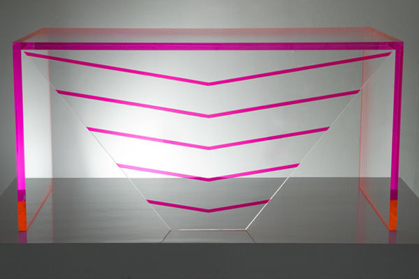 Geometric Lucite Furnishings