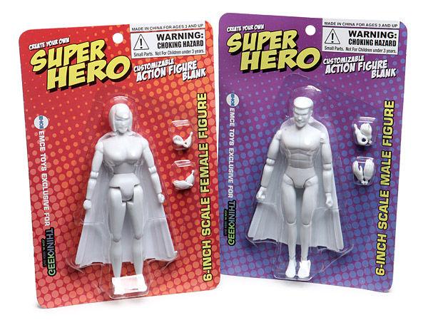 customizable superhero sets action figure