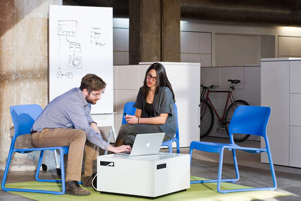 spontaneity-inspired office furniture : activity spaces for knoll