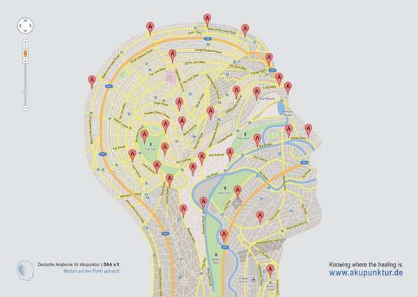 Geolocated Anatomy Ads