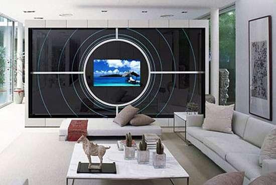 Mega Framed Tvs Ad Notam Creates Futuristic Televsion