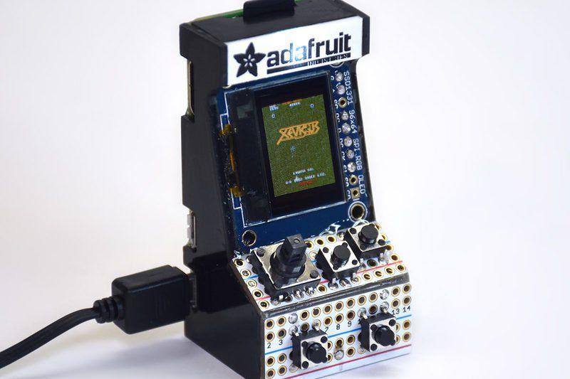 Tiny Arcade Consoles Adafruit