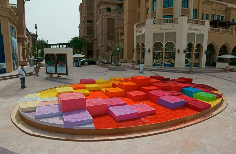 Rainbow Sandbox Displays