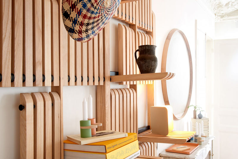 Stylishly Adaptable Shelving Systems