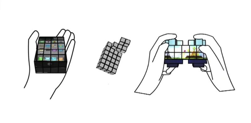 Shape-Shifting Touch Screens