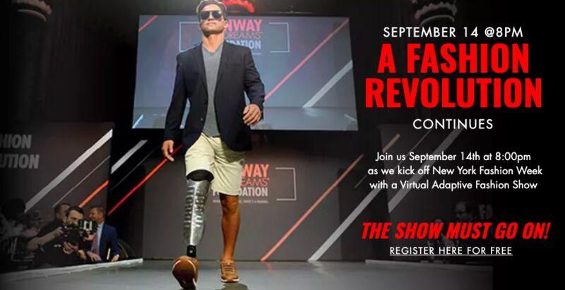 Virtual Adaptive Fashion Shows