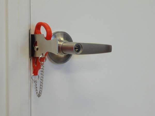 No-Drill Door Locks