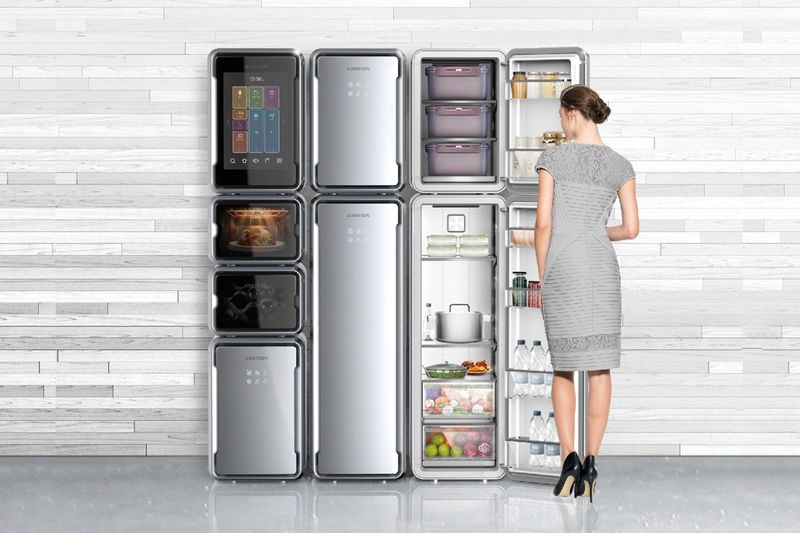 Modular Refrigerator Appliances