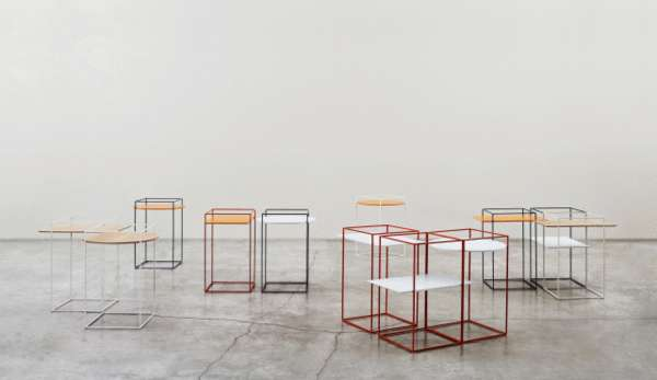 Gridded Minimalism Furnishings