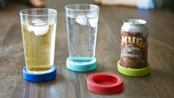 Adhesive Color-Coded Coasters