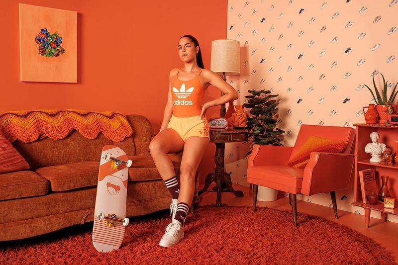 Color-Focused Sportswear Editorials