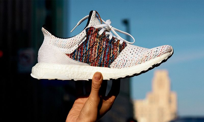 Space-Dyed Running Sneakers