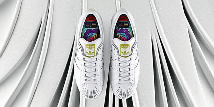 Artistic Collaborative Sneakers