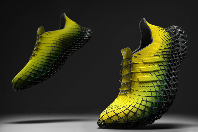 3D-Printed Latticed Sole Sneakers