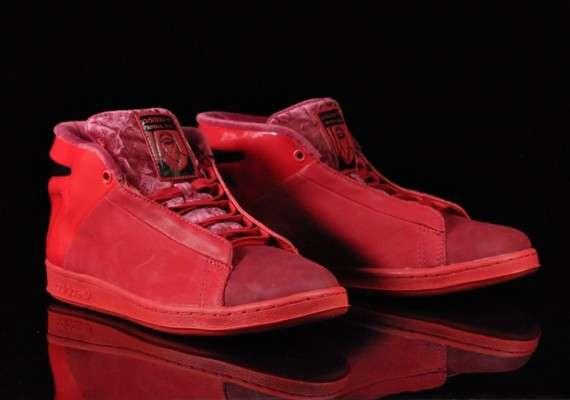 Crimson Sci-Fi Kicks