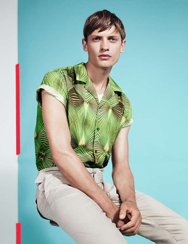 Tropically Accented Sportswear