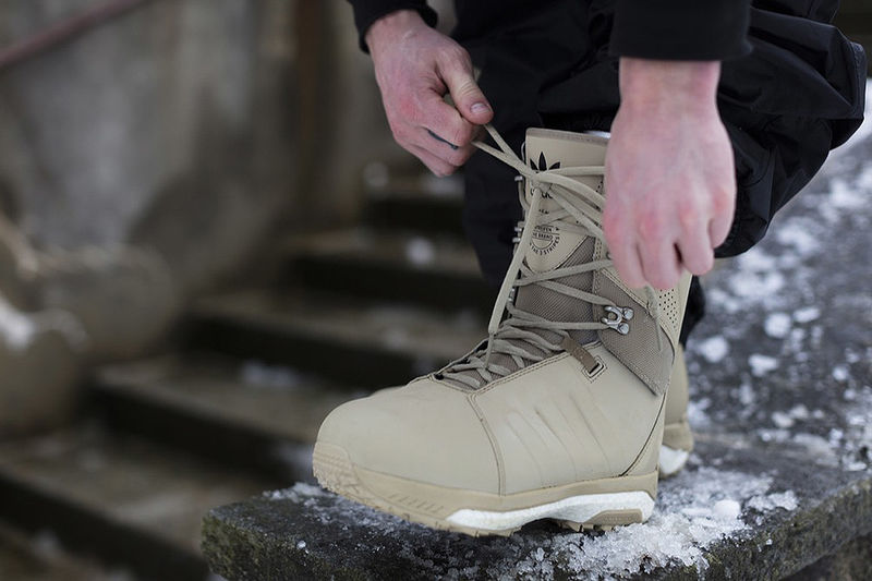 Sporty Sneaker-Style Snowboard Boots