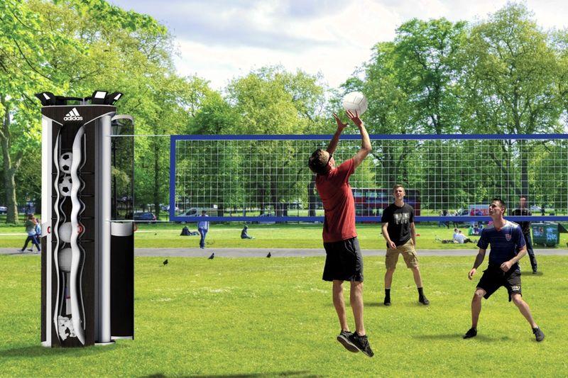 Digital Sports Equipment Kiosks