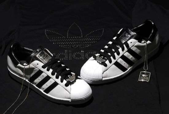 Diamond-Studded Sneakers