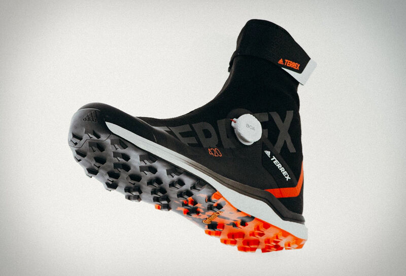 Protective High-Top Trail Shoes