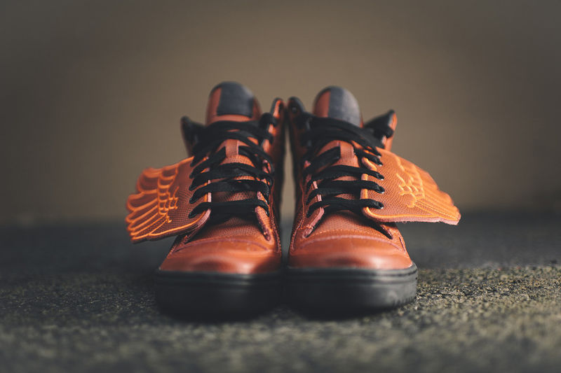 Winged Basketball Sneakers