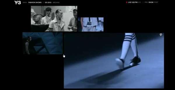 Immersive Web Streamed Catwalks