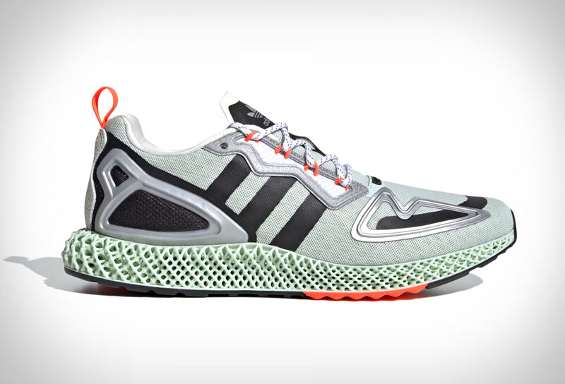 Futuristically Styled Performance Sneakers