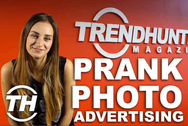Prank Photo Advertising