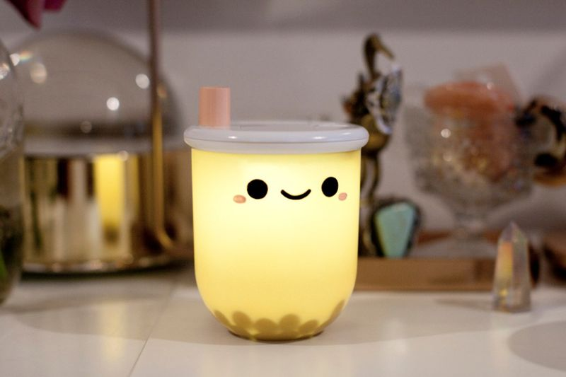 Bubble Tea-Inspired Lamps