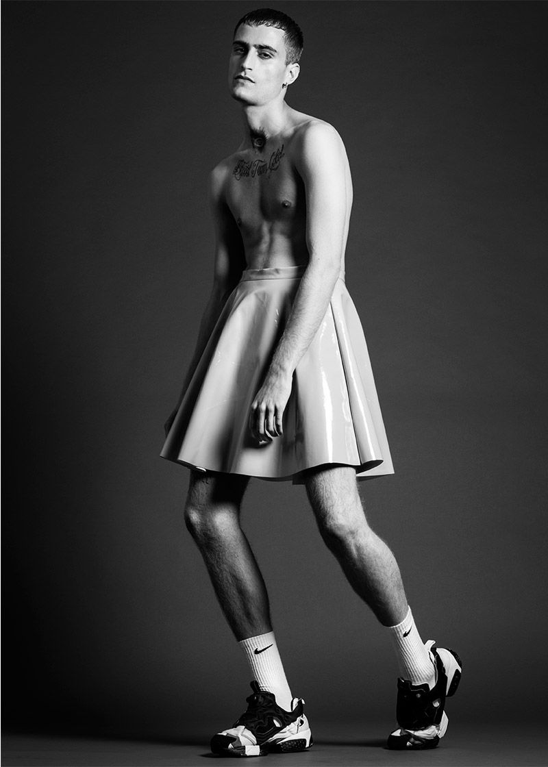 Gender-Bending Studio Editorials